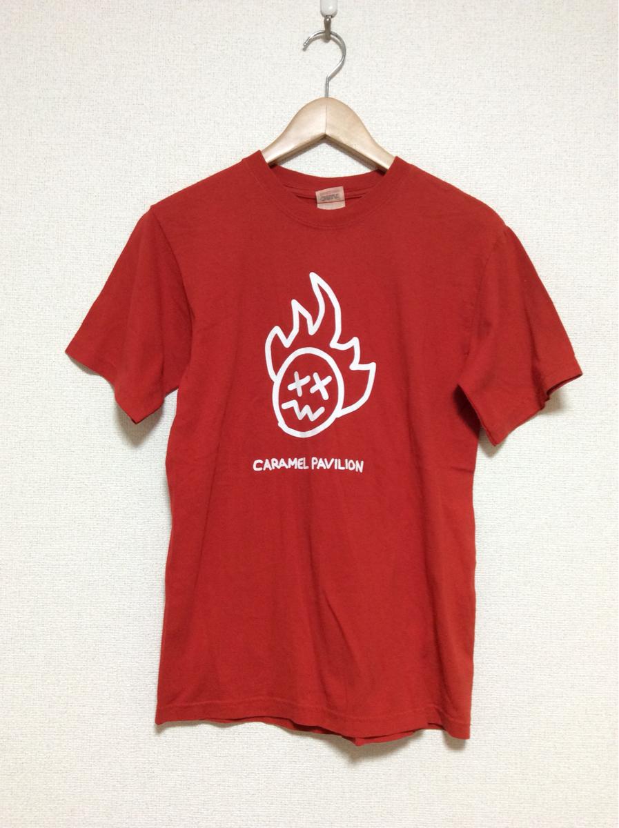 ち174 GLAY JIRO キャラメルパビリオン Tシャツ S anvil