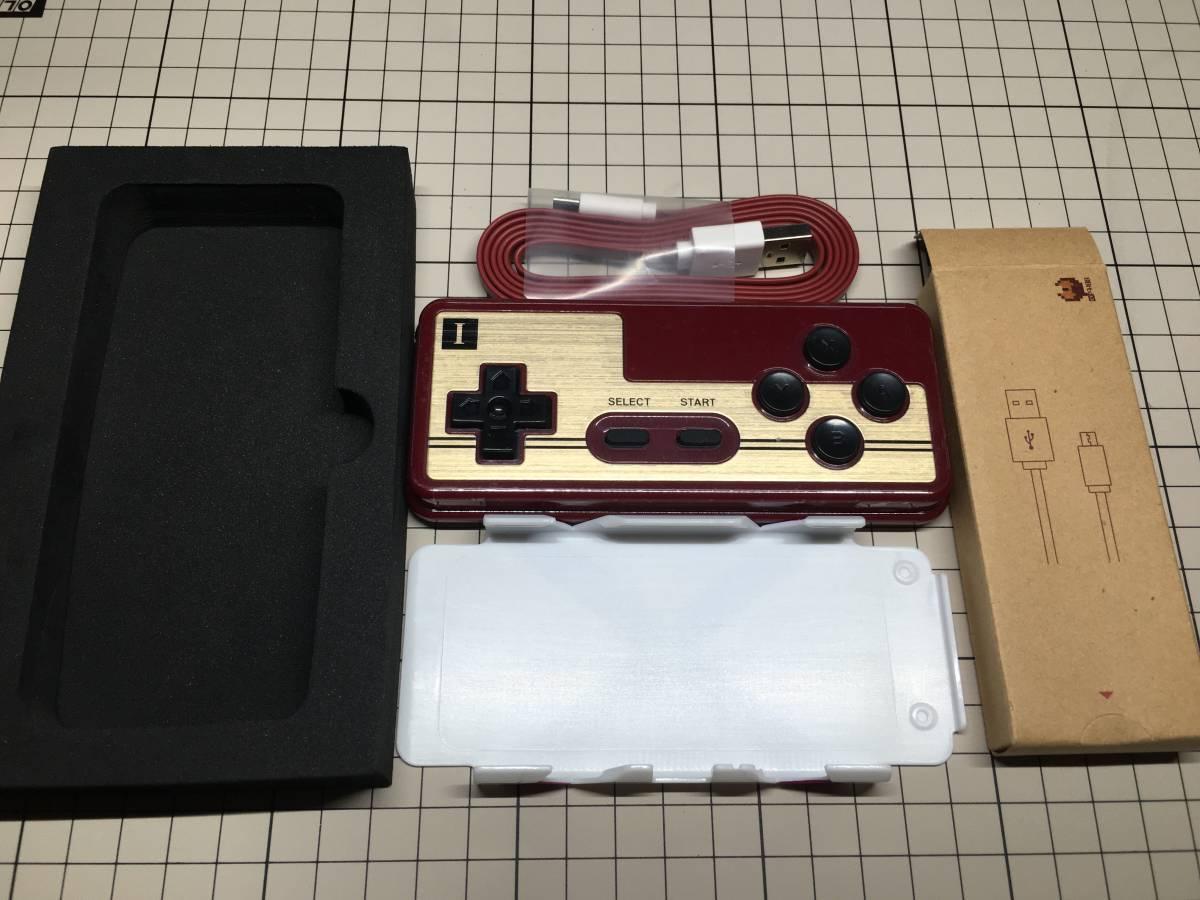 【Nintendo Switch対応】8Bitdo FC30 Bluetooth ゲームコントローラー【未使用品】_画像2