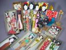 ◆ 古い民芸品/ 全国の 姉様 人形 まとめて/ 姉さん あねさん 首人形 中山土人形 立ち雛 レトロ 日本人形 静岡 松山 福岡 島根 郷土玩具
