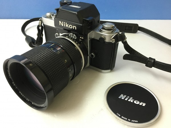 Nikon ニコン F2 フォトミック AS Zoom-NIKKOR 35-70mm 1:3.5  ジャンク