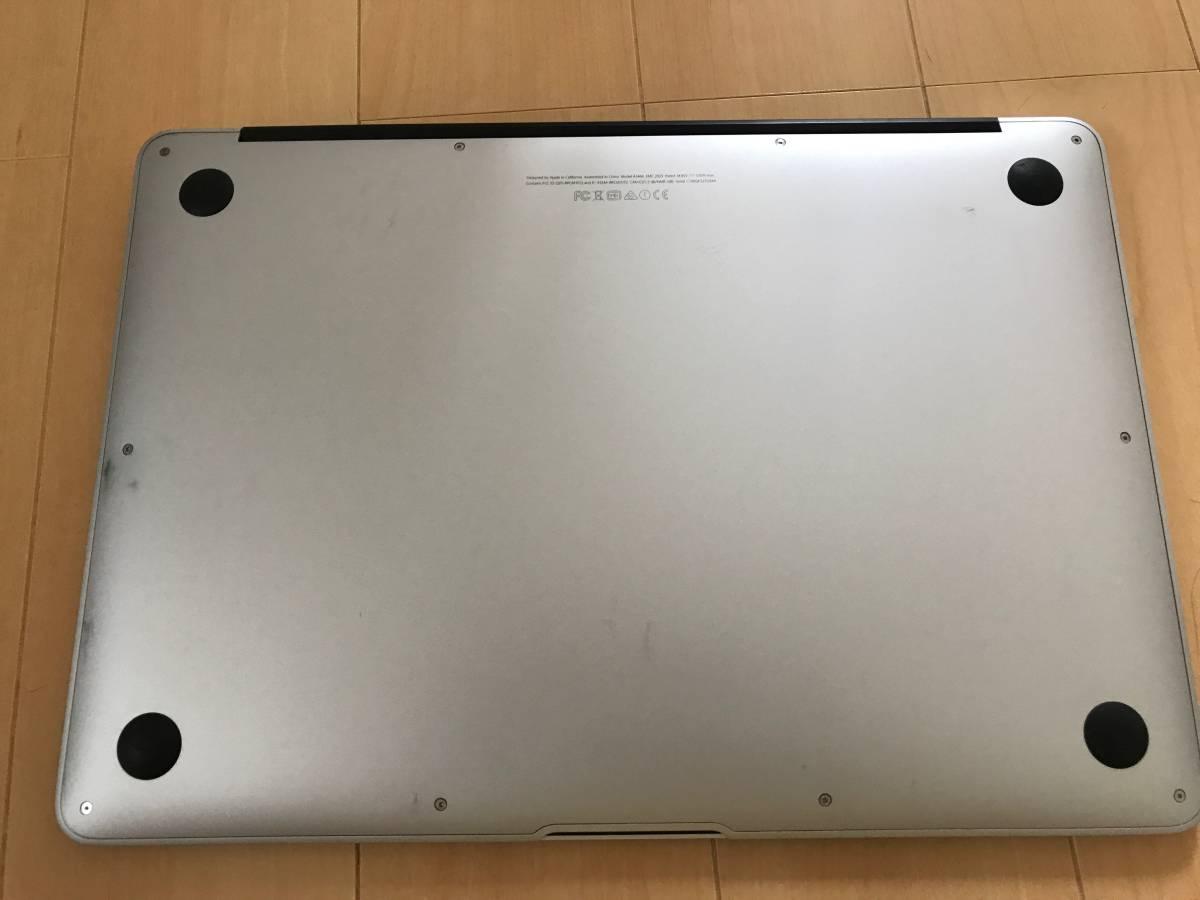 MacBook Air 13インチ i7 SSD256GB メモリ8GB (Early 2015) 英字キーボード_画像3
