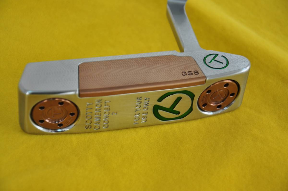 SCOTTY CAMERON Concept2 FOR TOUR USE ONLY T-GREEN 限定 33インチ
