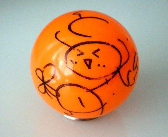 伊藤家のお誕生日会2012■伊藤かな恵 直筆サイン ボール