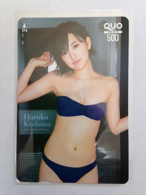 月刊ヤングマガジン HKT48 児玉遥 新品クオカード ライブグッズの画像