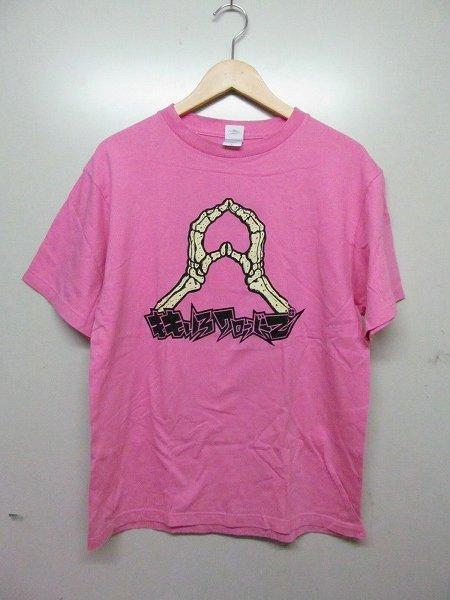 ももいろクローバーZ MUSIC COMPLEX 2012 ピーチポーズTシャツ 桃 L b4288