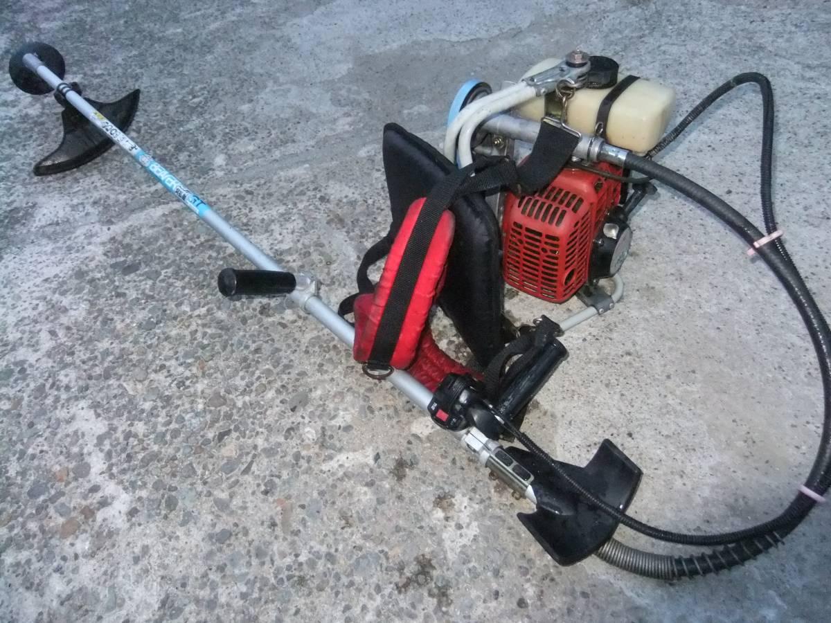 刈払機・草刈機負い式ビーバーL46Zプロ仕様40㏄パワーあります。★格安です。