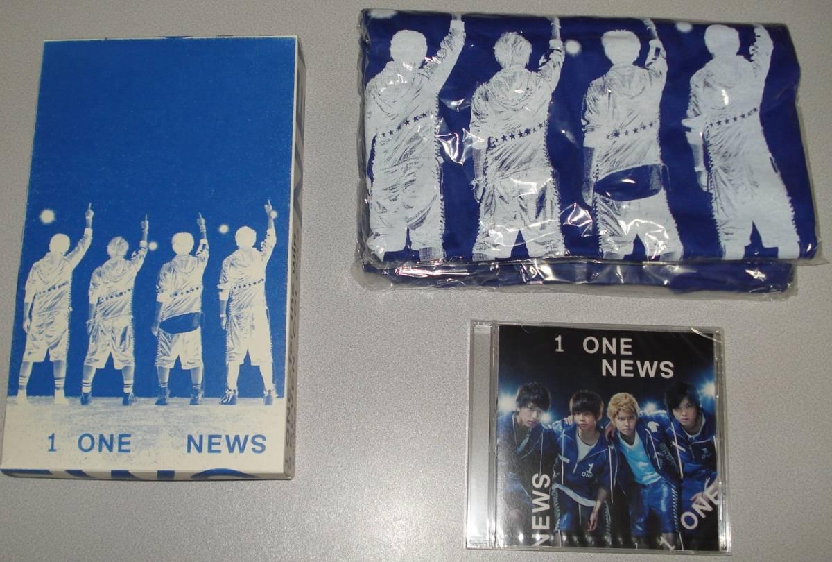 未使用 NEWS CD+Tシャツ ONE-for the win- Web限定スペシャル盤