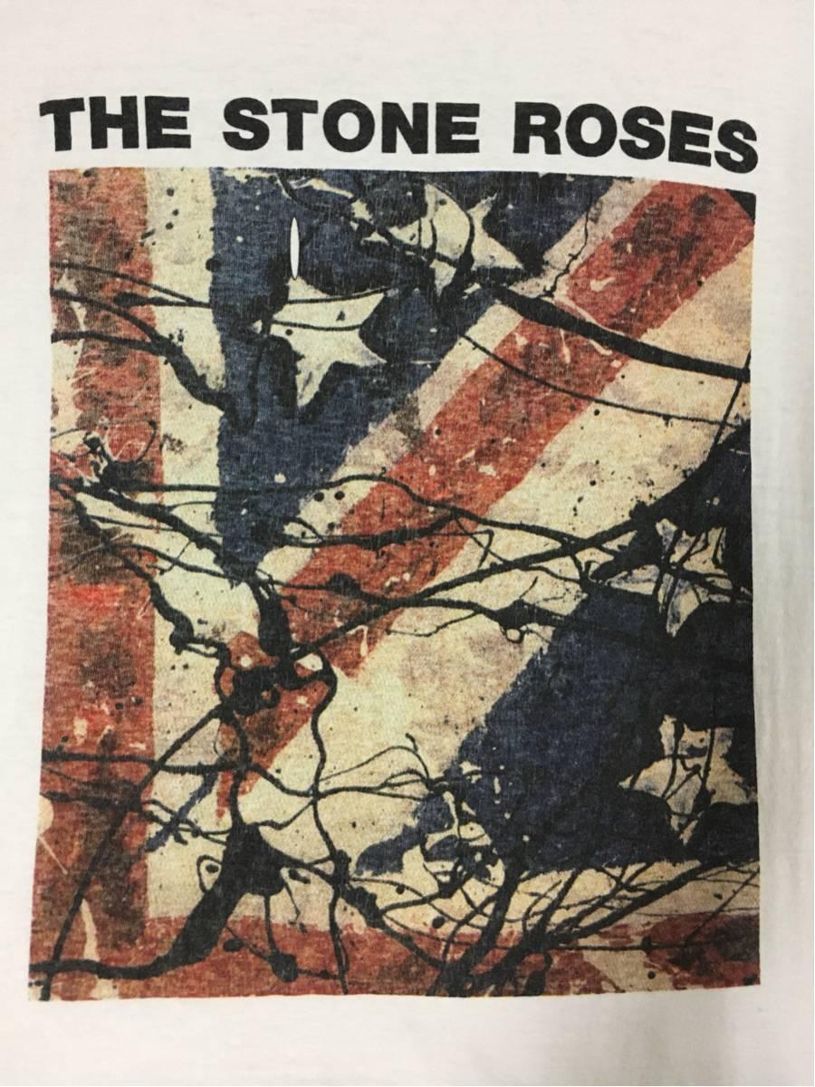 ★90'sヴィンテージ ロックT ツアーT正規品『ザ・ストーン・ローゼズThe Stone Roses』マンチェスター ニューオーダー オアシス ブラー★