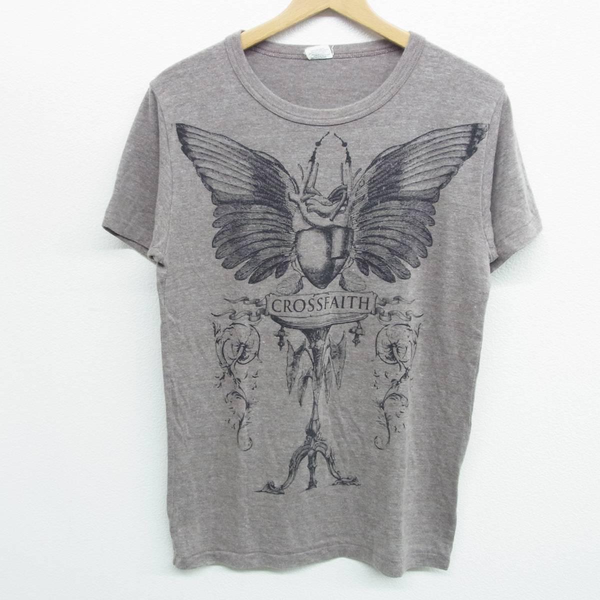 CROSSFAITH クロスフェイス Tシャツ M ブラウン PROMISE