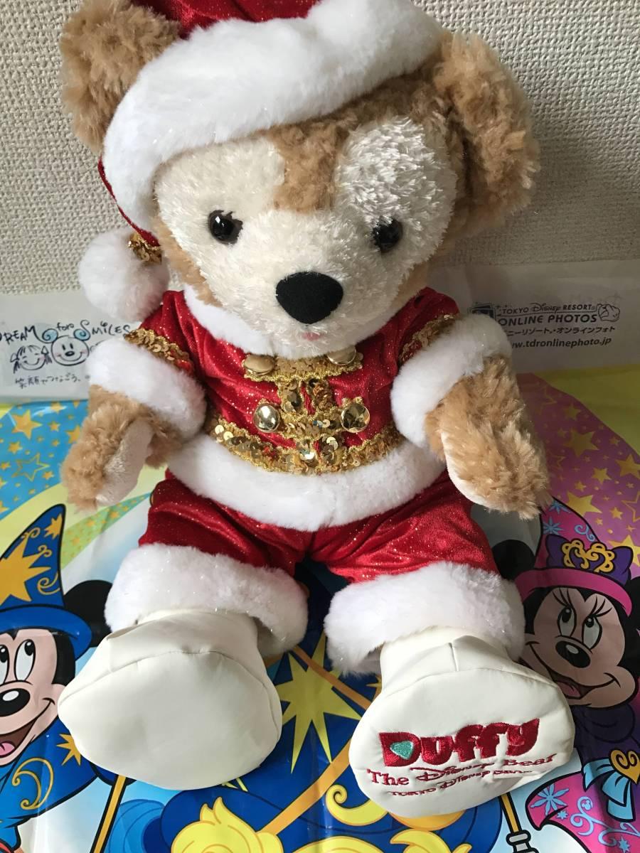 激レア オープンマウスダッフィー 2009年クリスマス Sサイズ ディズニーグッズの画像