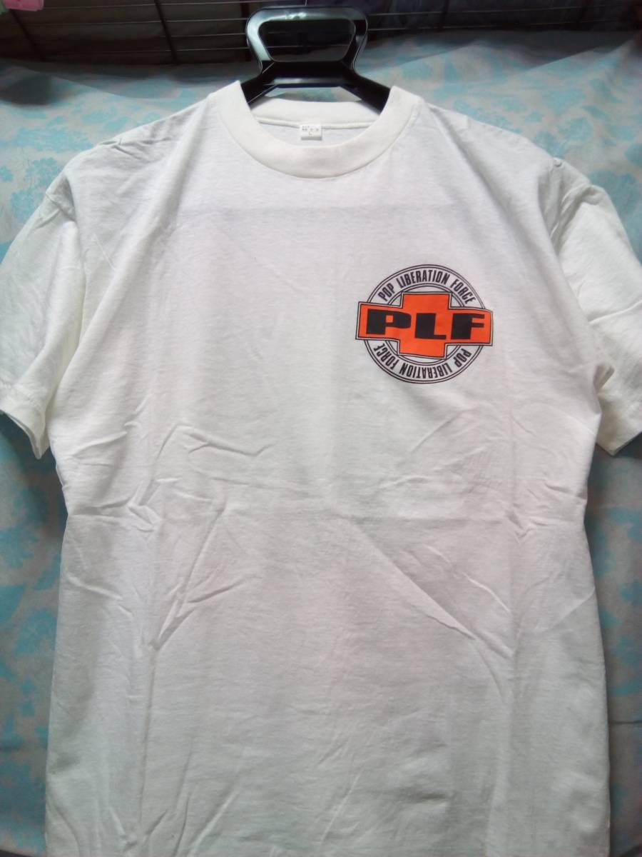 荻野目洋子 ツアー Tシャツ 1992年 Pop Liberation Force PLF メンズLサイズ