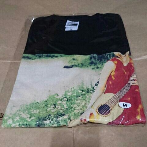 新品 スピッツ 結成30周年記念 ジャケT祭 限定 Tシャツ (ブラック) 『ハチミツ』 Mサイズ (受注生産商品)