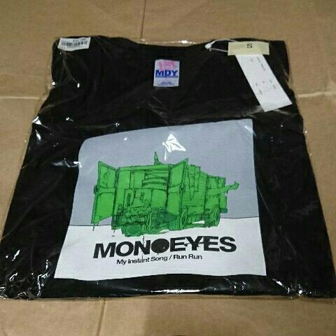 [グッズ] MONOEYES (モノアイズ) 「MONOEYES x MACKDADDY tee (ブラックS)」 / Tシャツ コラボ 限定 my instant song 新品