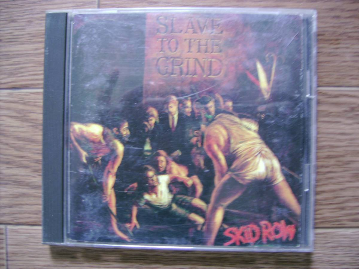 SKID ROW/SLAVE TO THE GRIND_画像1