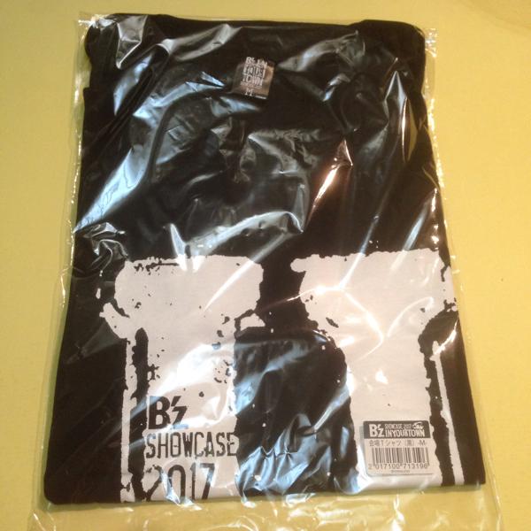 北海道 サイズM 会場限定Tシャツ ブラック B'z In Your Town 2017