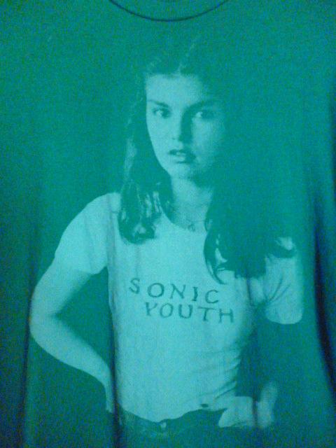 ソニックユース ★ Funky Donkey ガール Tシャツ Mサイズ ★ Sonic Youth キムゴードン サーストンムーア