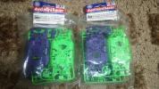 MSカラーシャーシセット(パープル、グリーン)2セット ミニ