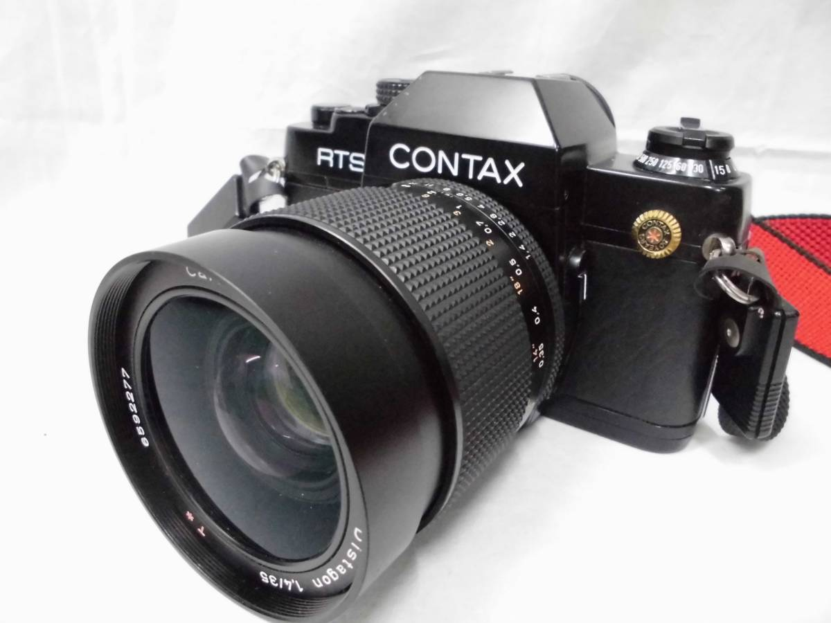 CONTAX RTS 50YEARS Carl Zeiss Distagon 1,4 / 35 一眼レフカメラ レンズ 取扱説明書付 コンタックス ジャンク扱い_画像2