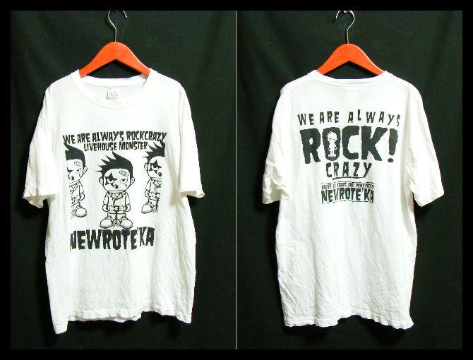 90's ビンテージ!NEW ROTE'KA (ニューロティカ) オフィシャル ツアーTシャツ / パンク 666