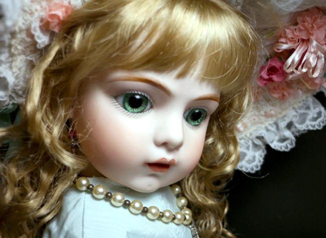 夢天使♪優秀作 ブリュ11by 作家さま 約61cm/SD 美少女肖像画 ゴシックロリータ服 ジュモ