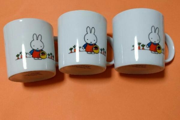 ミッフィーマグカップ&手提げかばん グッズの画像