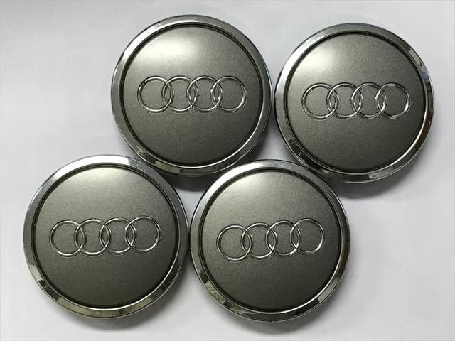 アウディ Audi 純正 ホイールセンターキャップ 美品 使用頻度少 68mm 8T0 601 170A  A1 A3 A4 A5 4枚セット
