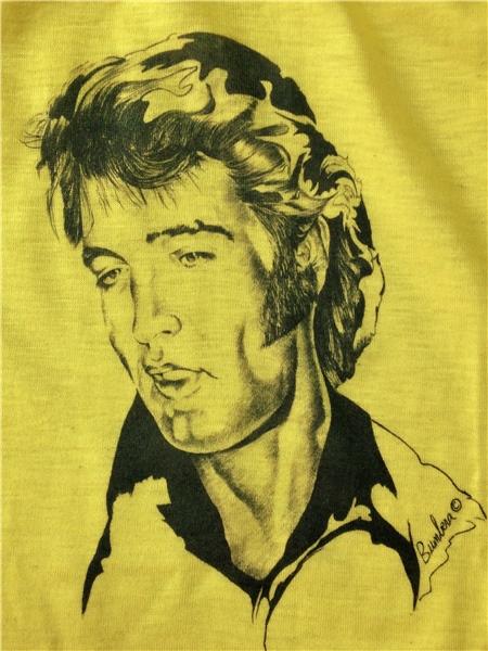 エルビス プレスリー ELVIS プリント Tシャツ 検索 ビンテージ ロカビリー 50s バンド ロック キッズ ワンピース ラスベガス
