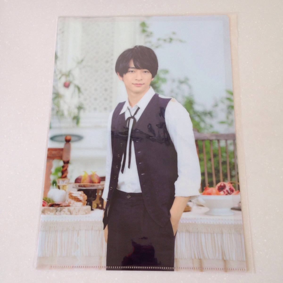 Hey!Say!JUMP I/Oグッズ 知念侑李クリアファイル コンサートグッズの画像