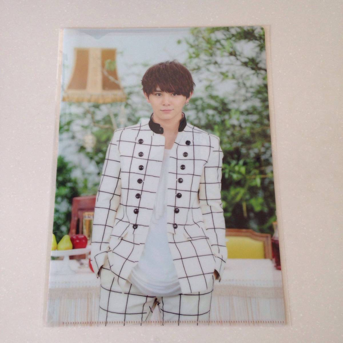 Hey!Say!JUMP I/Oグッズ 山田涼介クリアファイル コンサートグッズの画像
