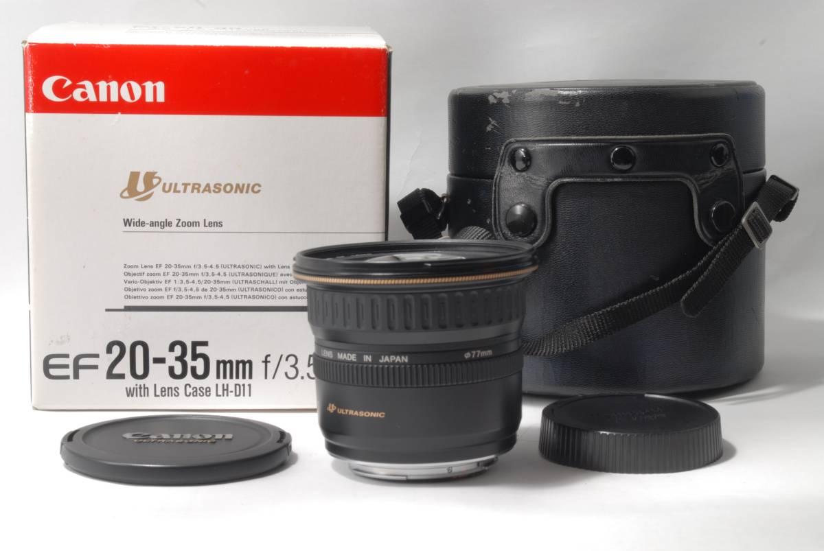 極美品★Canon★キャノン EF 20-35mm F3.5-4.5 USM★1円~