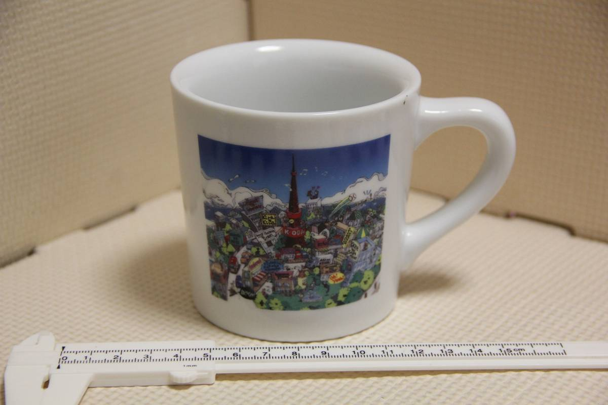 未使用 陶器製 小田和正 ツアー 2002 マグカップ 検索 コンサート グッズ K.ODA TOUR 2002 Kira Kira コップ コンサートグッズの画像