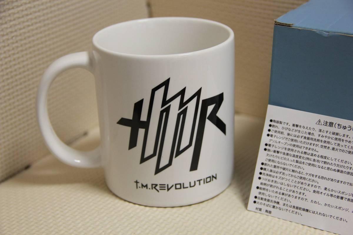 陶器製 T.M.Revolution マグカップ TM レボリューション 検索 西川 貴教 限定特典 マグ コップ コンサート グッズ ツアー 芸能人 ライブグッズの画像
