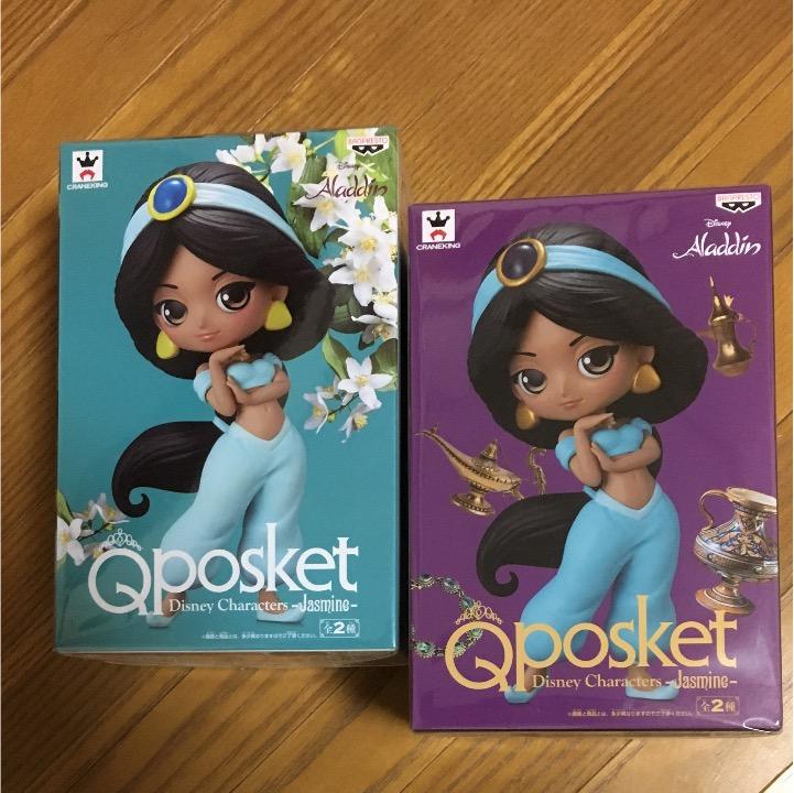 Qposket ディズニー ジャスミン全2種セット ディズニーグッズの画像