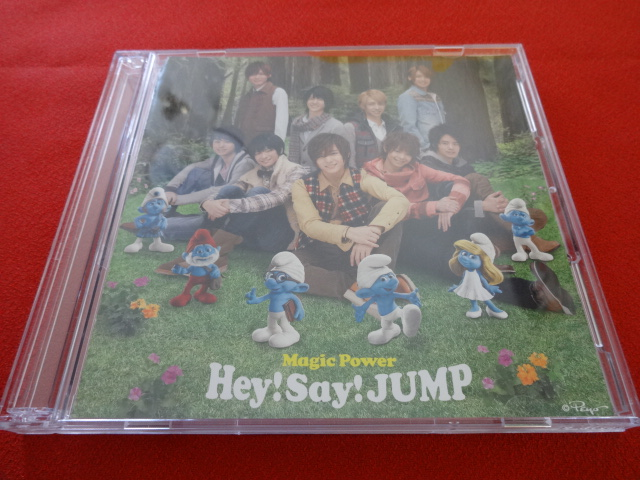 ■(送料無料)Hey!Say!JUMP Magic Power Magic Power(初回限定盤1)【CD+DVD】◆型番:JACA5280-5281