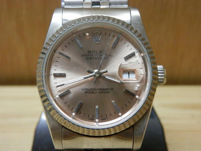 ロレックス デイトジャスト メンズ腕時計 アンティーク_画像2