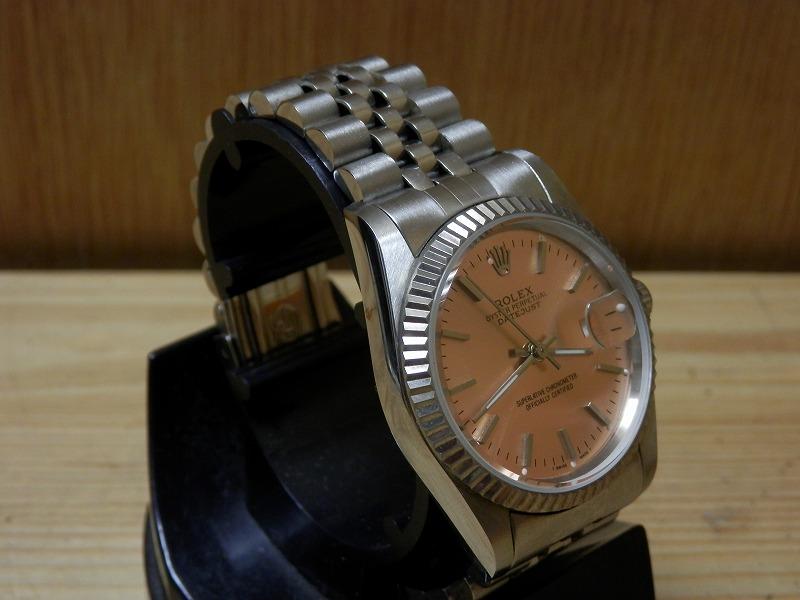 ロレックス デイトジャスト メンズ腕時計 アンティーク