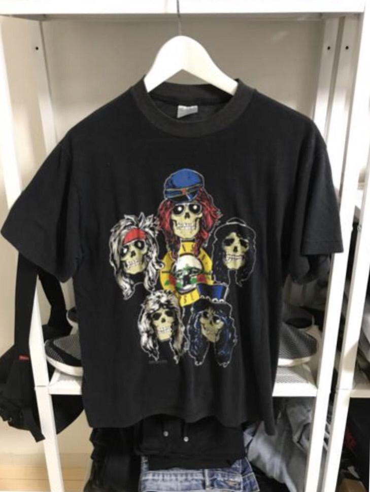 キムタク プライド ガンズ guns roses vintage Tシャツ 売り切り