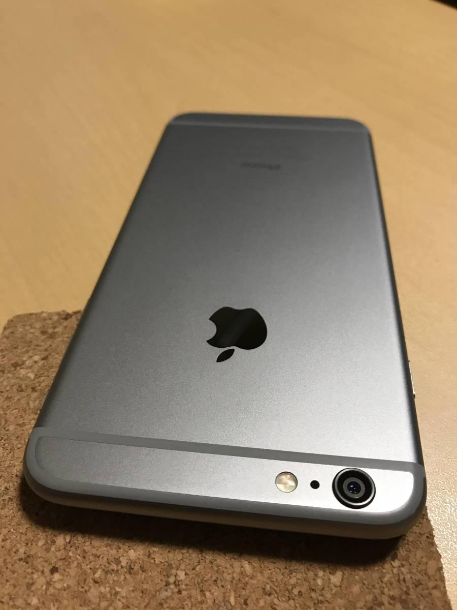 中古 iPhone6 Plus au スペースグレー 16GB ネットワーク制限 ◯判定 A1524_画像2