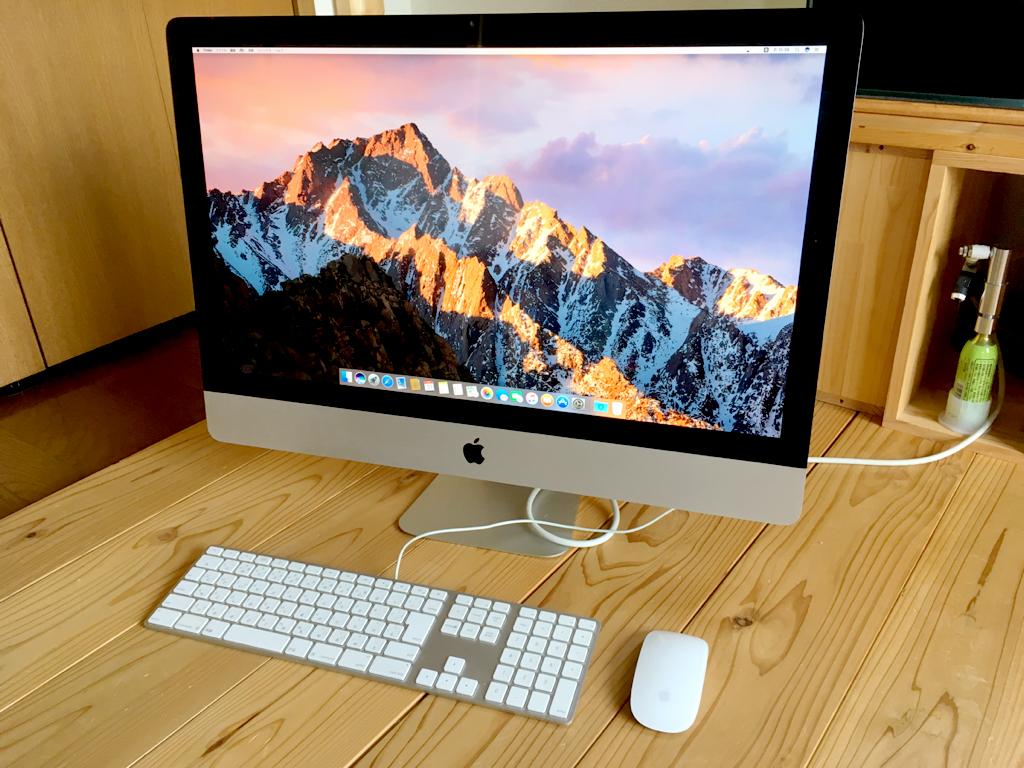 iMac 27インチ intel Corei5 / 2.7GHz メモリ32GBフルスロットル 中古(ジャンク品) 2011/Mid