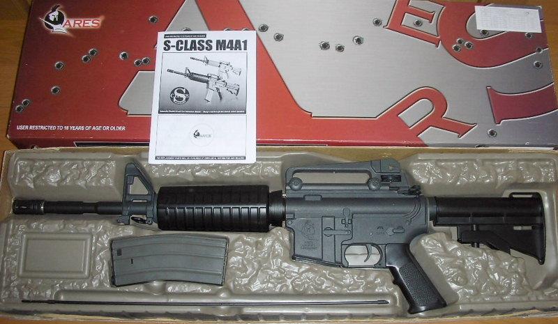 【ARES】 M4A1 ハイトルクモーター仕様 動作快調! 検)マルイ m16 m733 sr16 xm177 ar15 _画像2