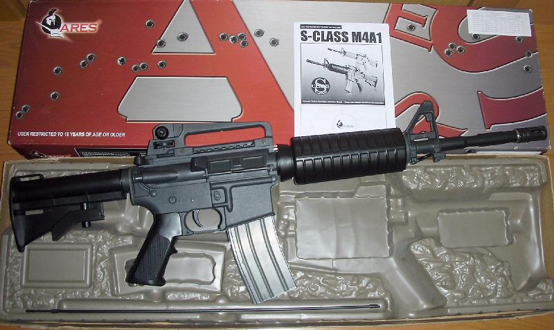 【ARES】 M4A1 ハイトルクモーター仕様 動作快調! 検)マルイ m16 m733 sr16 xm177 ar15