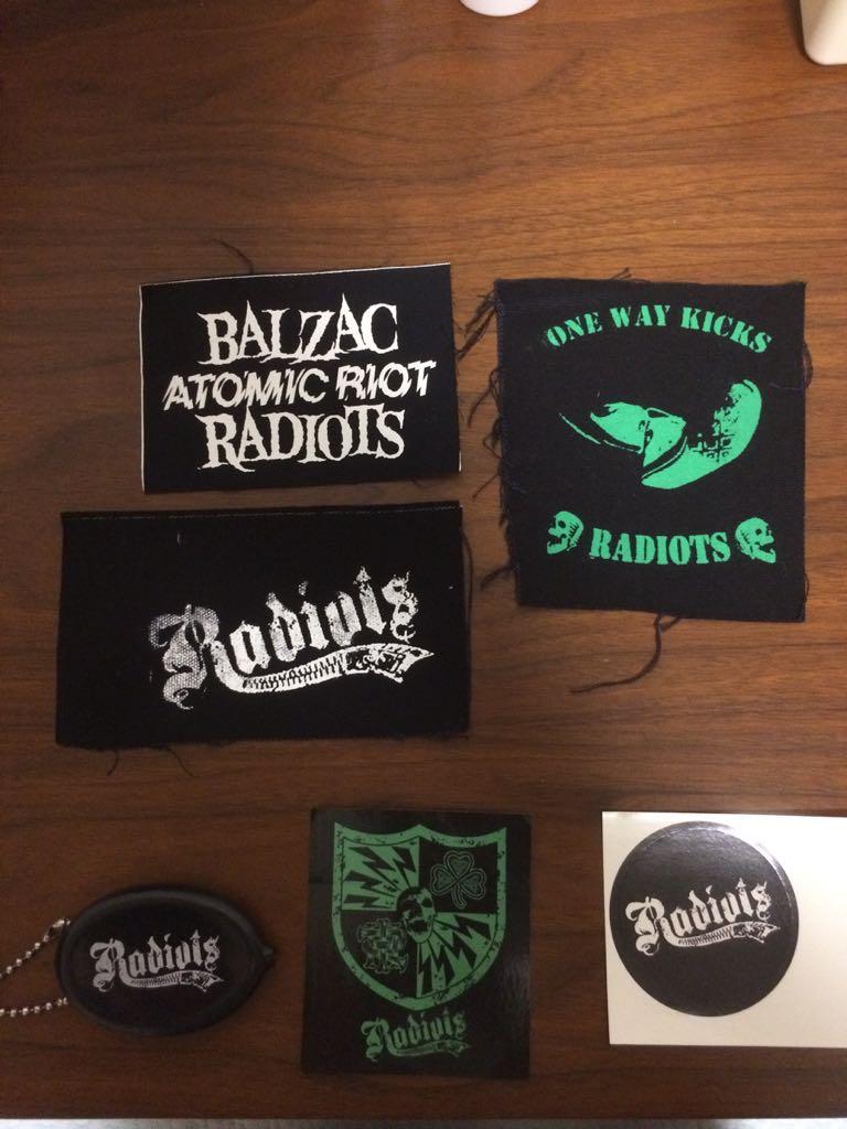 Radiots ステッカー パッチ コインケース セット