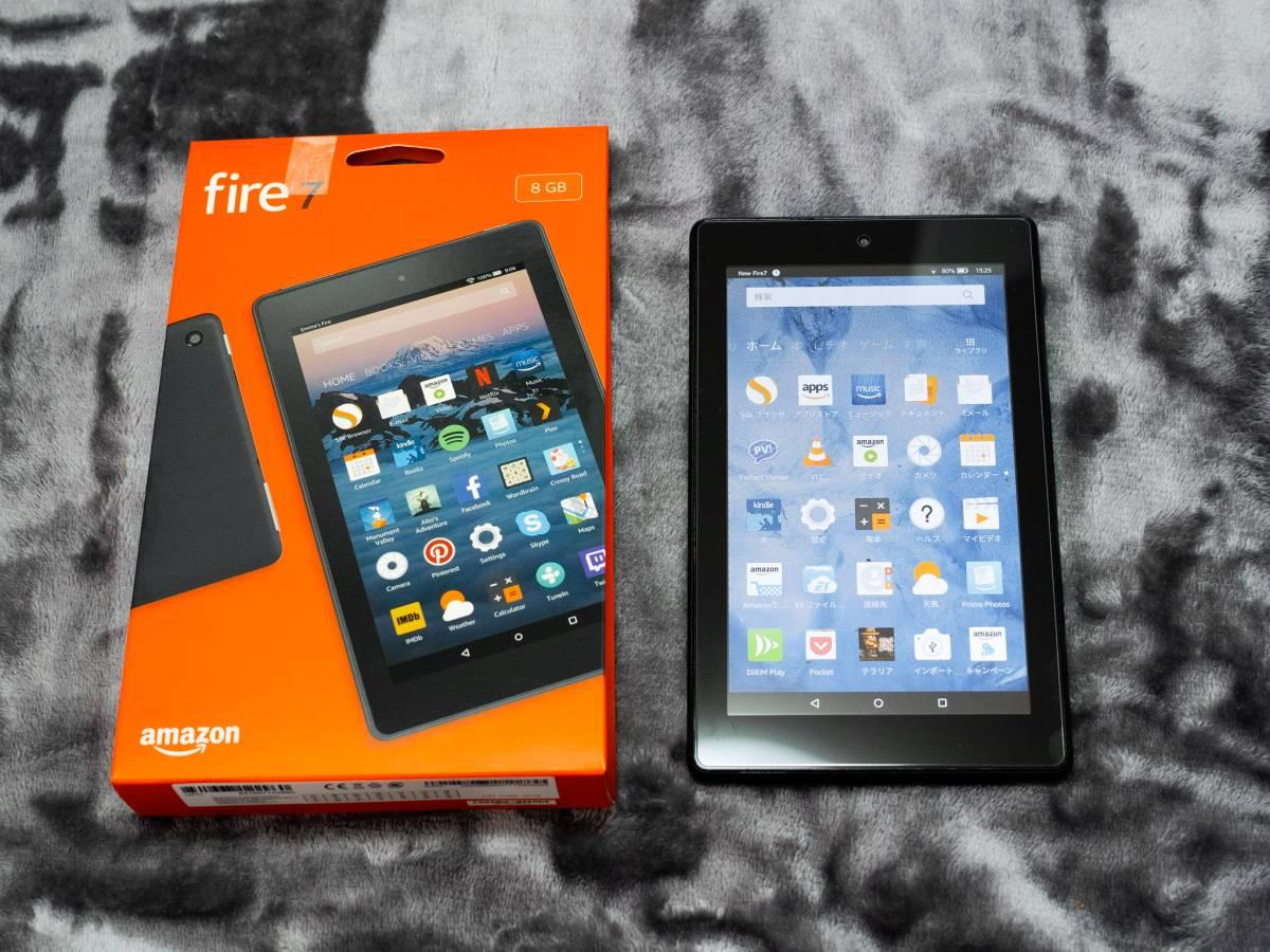 【美品】 Kindle Fire7 8GB 2017年版