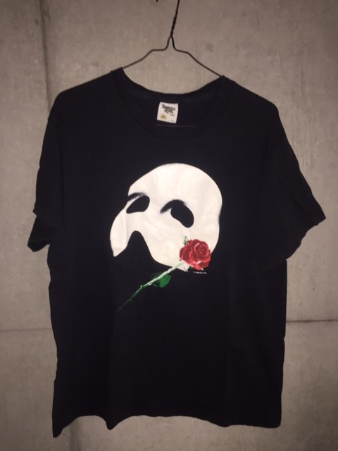 80s 1986年 USA製 THE PHANTOM of THE OPERA vintage Tシャツ オペラ座の怪人 ビンテージ yeezy kanye west fear of god fog jerry lorenzo