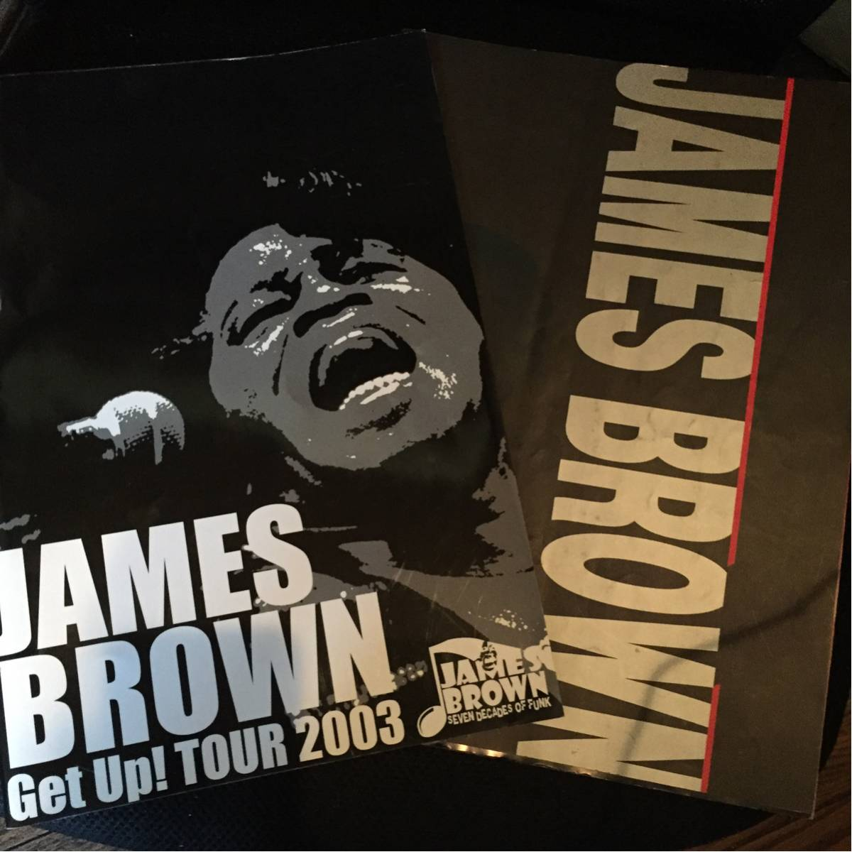 JAMES BROWN ツアーパンフ 1992年 2003年 2組セット