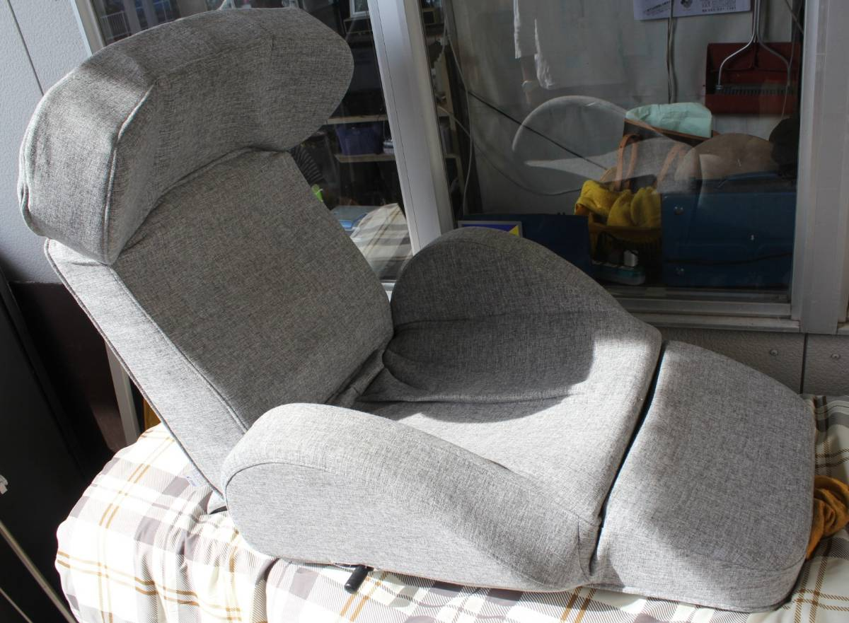 used design dreams プレミアムマンボウソファ 座椅子型リクライニングチェア_画像1