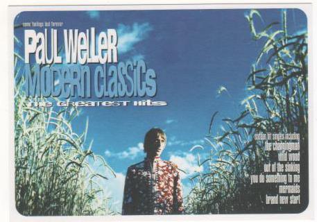 Paul Weller・ポール・ウェラー非売品ポストカード