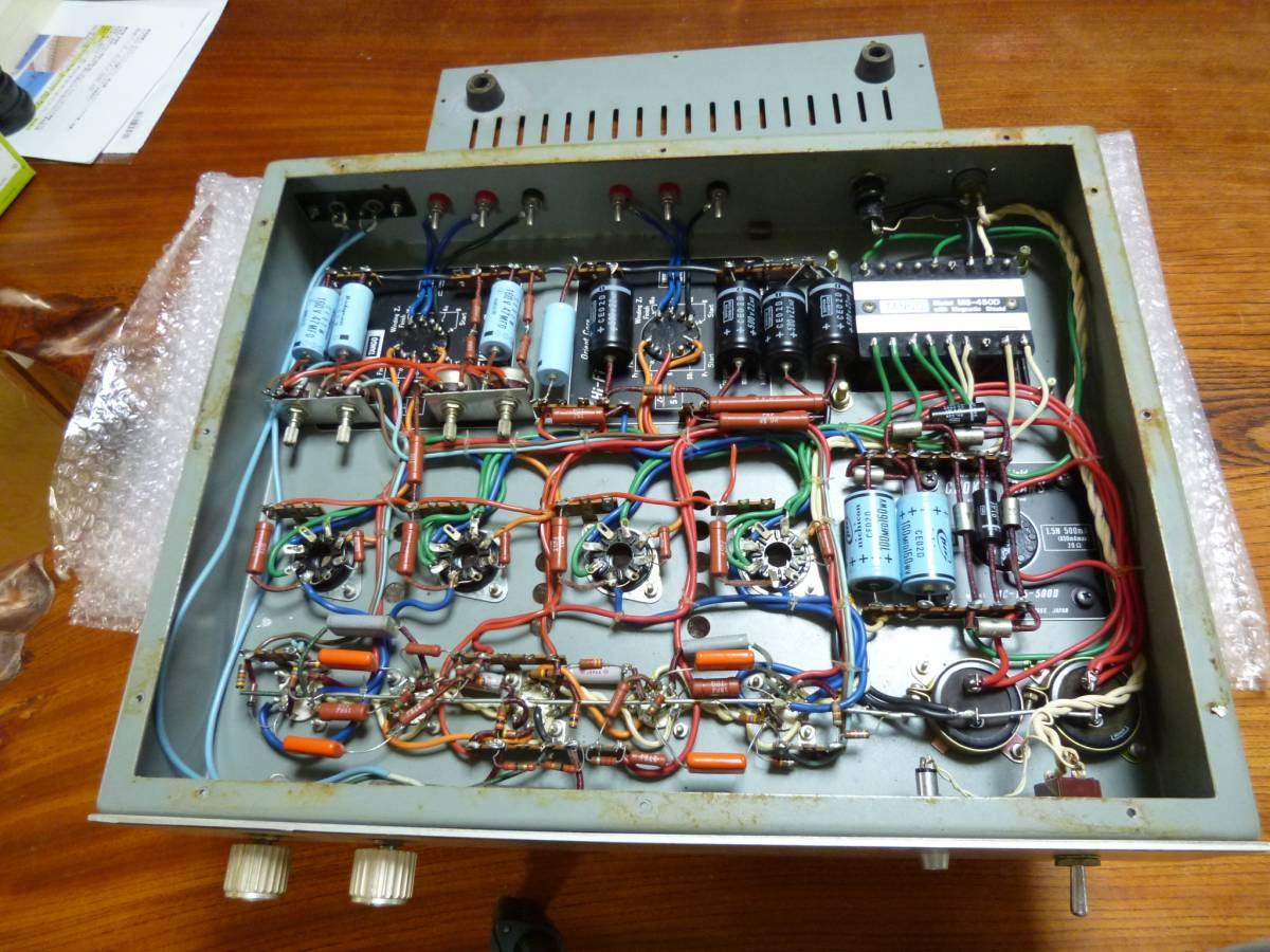 自作アンプ TANGO FW-100-5×2個 ・ MS-450D ・ MC-1.5-500D_画像3