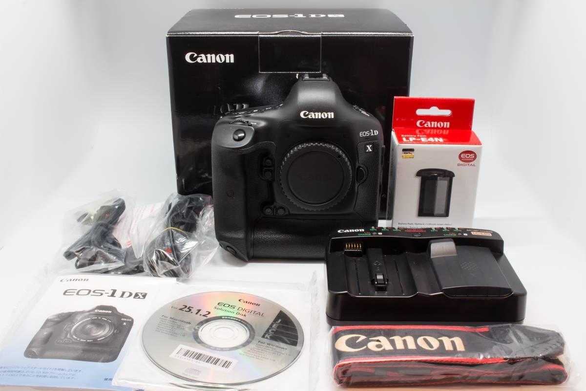 【美品】 Canon EOS-1D X ボディ 予備バッテリー付き
