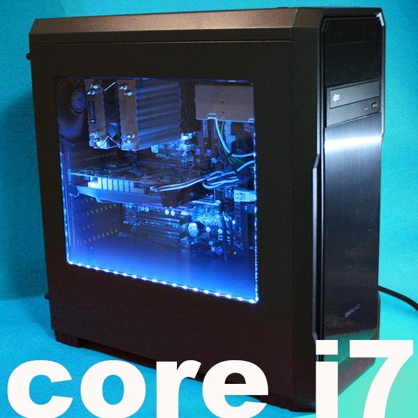 爆速 SSD120GB core i7 8GB GTX560Ti 2画面 デュアルディスプレイ HDD1TB win10 64bit デイトレ ゲーミング 1017